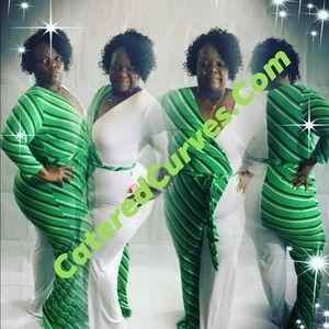 Pants - M&M Green Jumper